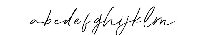 Aunofa Script DEMO Regular Font LOWERCASE