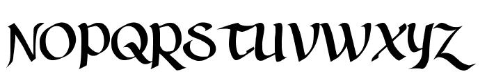AuntJudy Font UPPERCASE