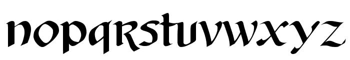 AuntJudy Font LOWERCASE