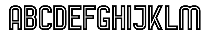 AurachBi Font UPPERCASE