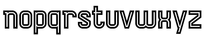AurachBi Font LOWERCASE