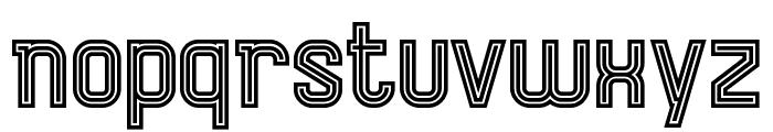 AurachTri Font LOWERCASE