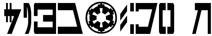 Aurek-Besh Narrow Font OTHER CHARS