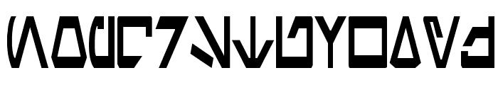 Aurek-Besh Narrow Font UPPERCASE