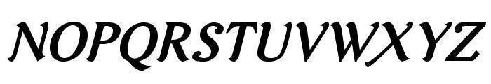AurelisADFNo2Std-BoldItalic Font UPPERCASE