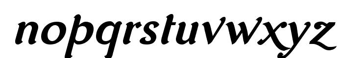 AurelisADFNo2Std-BoldItalic Font LOWERCASE