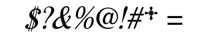 AurelisADFNo2Std-Italic Font OTHER CHARS