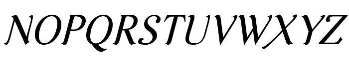 AurelisADFNo2Std-Italic Font UPPERCASE