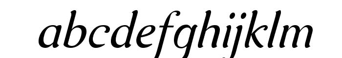 AurelisADFNo2Std-Italic Font LOWERCASE