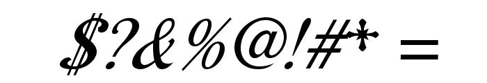 AurelisADFScriptNo2Std-CoIt Font OTHER CHARS