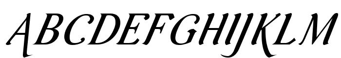 AurelisADFScriptNo2Std-CoIt Font UPPERCASE