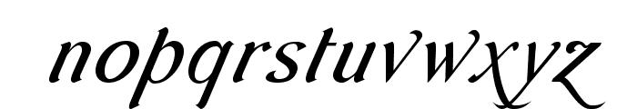 AurelisADFScriptNo2Std-CoIt Font LOWERCASE