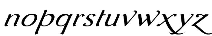 AurelisADFScriptNo2Std-ExtIt Font LOWERCASE