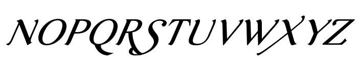 AurelisADFScriptNo2Std-Italic Font UPPERCASE