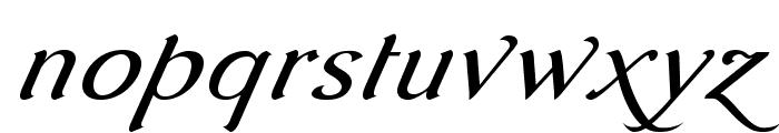AurelisADFScriptNo2Std-Italic Font LOWERCASE