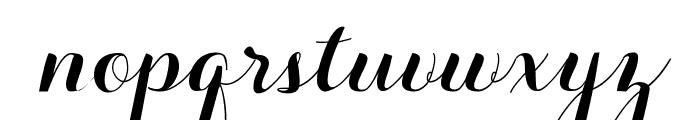 Aurella-Script Font LOWERCASE