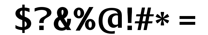 AurulentSans-Bold Font OTHER CHARS