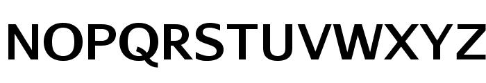 AurulentSans-Bold Font UPPERCASE