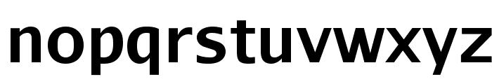 AurulentSans-Bold Font LOWERCASE