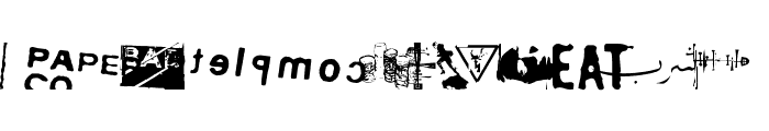 Ausfarht Font LOWERCASE