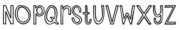 Austie Bost Cherry Cola Font UPPERCASE