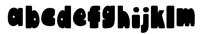 Austie Bost Chunkilicious Bounce Font LOWERCASE