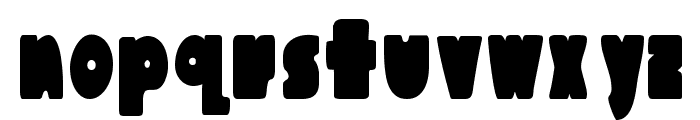 Austie Bost Chunkilicious Font LOWERCASE