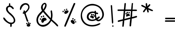 Austie Bost Kitten Klub Font OTHER CHARS