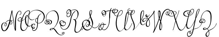 Austie Bost Versailles Font UPPERCASE