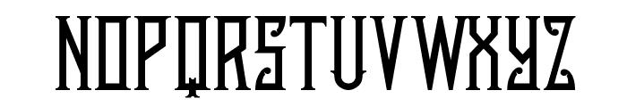 AustinNichols Font UPPERCASE