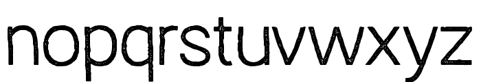 Austral Sans Stamp Light Font LOWERCASE