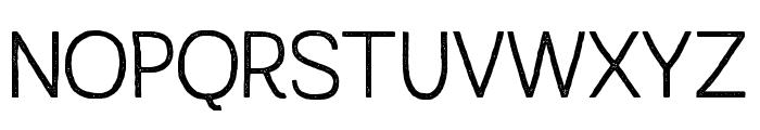 AustralSansStamp-Light Font UPPERCASE