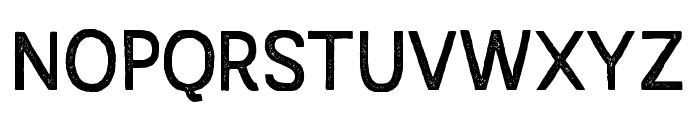 AustralSansStamp-Regular Font UPPERCASE
