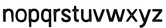AustralSansStamp-Regular Font LOWERCASE