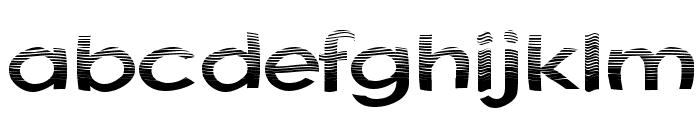 Australian Sunrise Font LOWERCASE