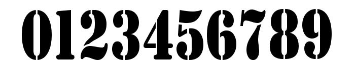 AustralianFlyingCorpsStencil Font OTHER CHARS