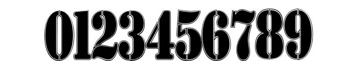 AustralianFlyingCorpsStencilCo Font OTHER CHARS