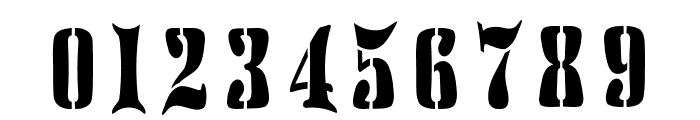 AustralianFlyingCorpsStencilH Font OTHER CHARS