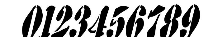 AustralianFlyingCorpsStencilSB Font OTHER CHARS