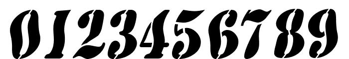 AustralianFlyingCorpsStencilSD Font OTHER CHARS