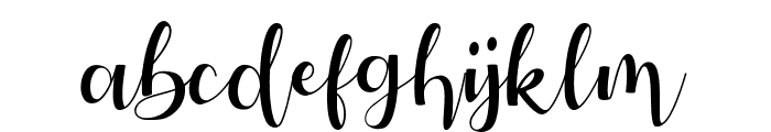 Autery Font LOWERCASE