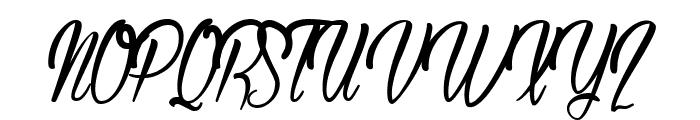 Authentic Hilton Font UPPERCASE