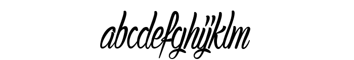AuthenticHilton Font LOWERCASE