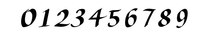 AuthorCalligraphyOpti-Italic Font OTHER CHARS