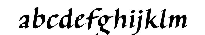 AuthorCalligraphyOpti-Italic Font LOWERCASE