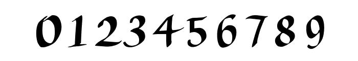 AuthorCalligraphyOpti-Regular Font OTHER CHARS