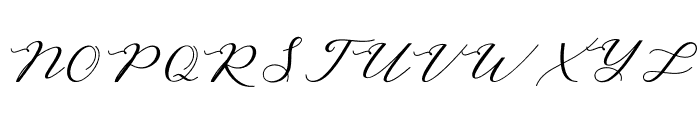 AutinesScript Font UPPERCASE