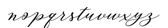 AutinesScript Font LOWERCASE