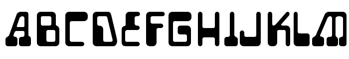 Auto Mission Font UPPERCASE