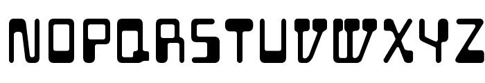 Auto Mission Font LOWERCASE